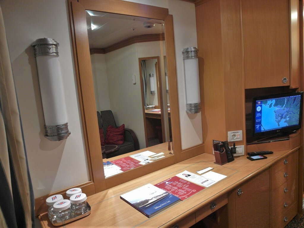Dressing Table and Extendable TV