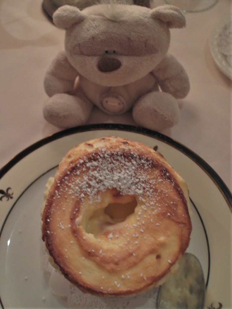 Signature Dessert of Jeanne d'Arc Restaurant - Grand Marnier Souffle