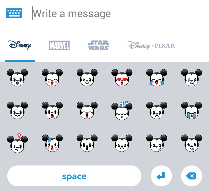 Disney Cruise Line Navigator App Disney Emoticons 5