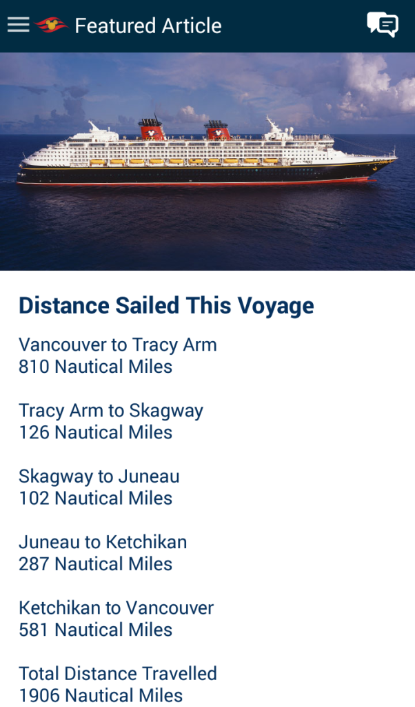 Distance Sailed