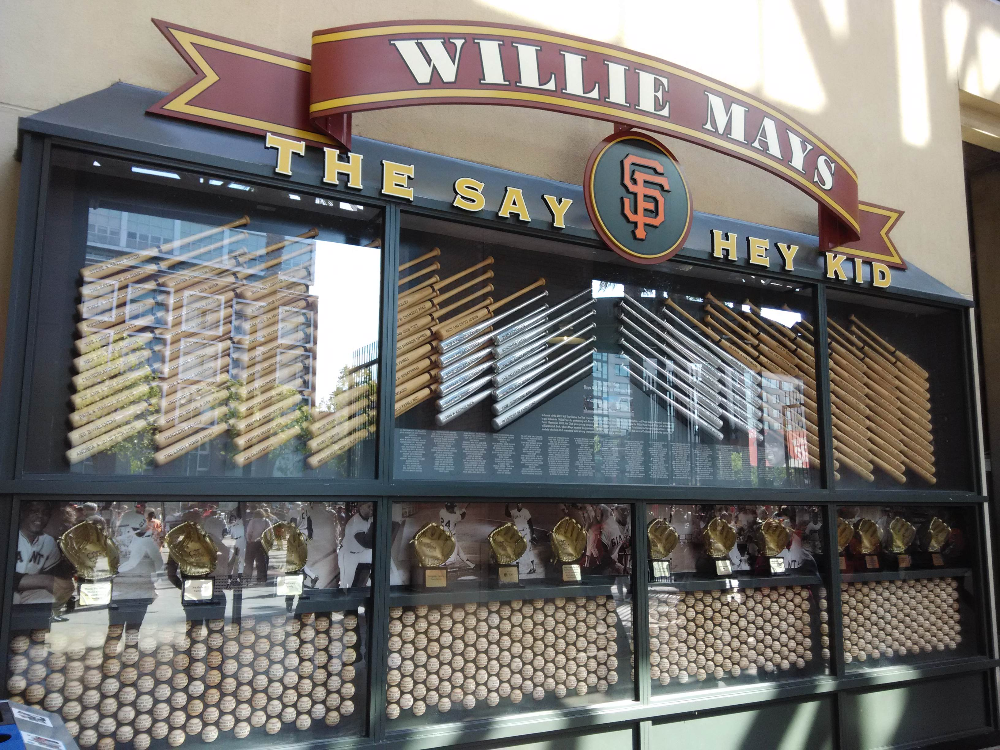 The Say Hey Kid Entrance AT&T Park