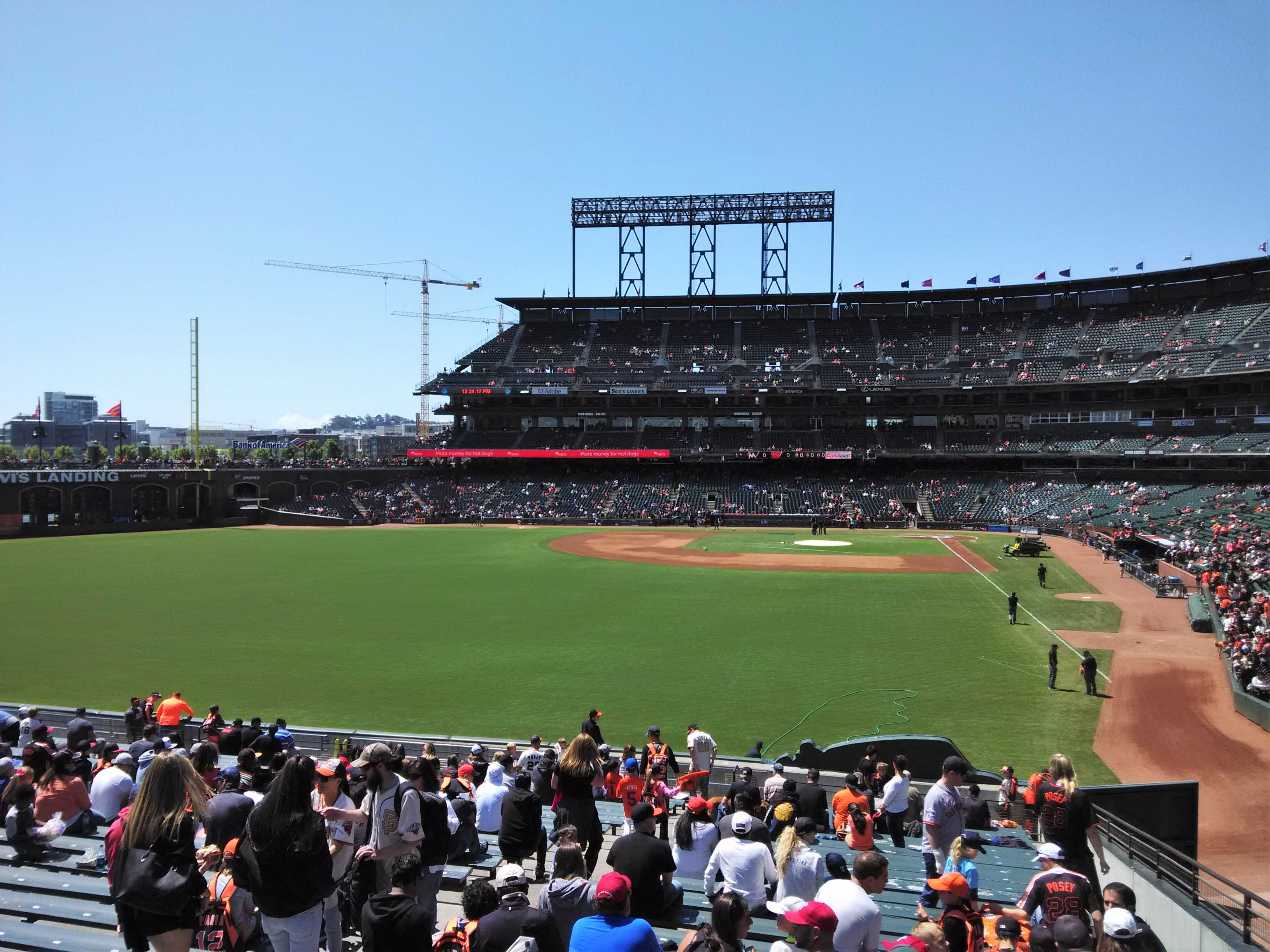 Mound & Bases AT&T Park