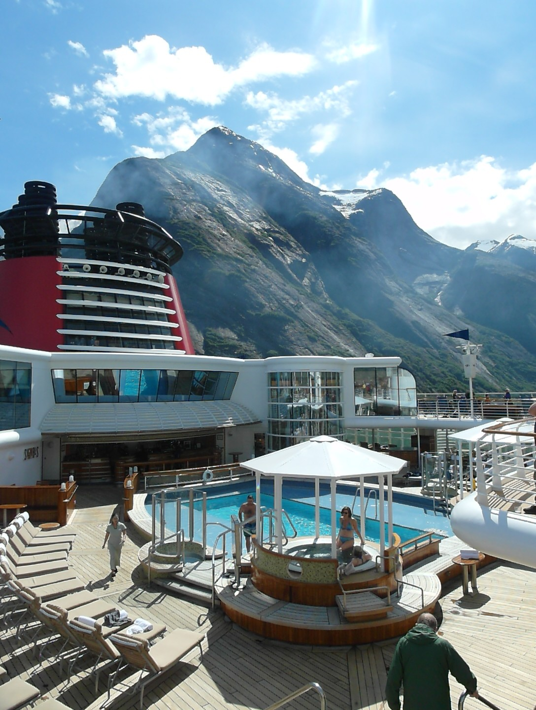 View from Disney Alaska Cruise