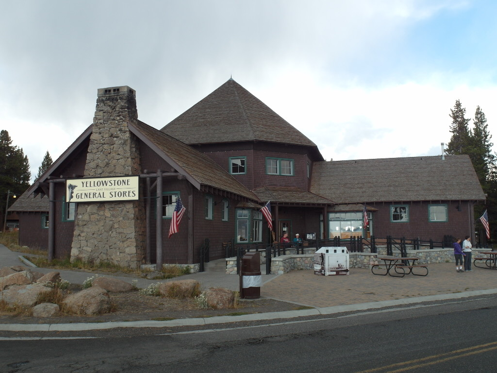General Store Yellowstone National Park to Refill Water