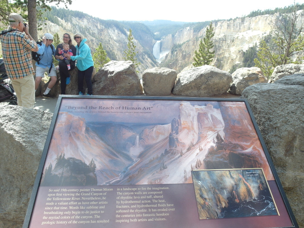 Artist Point Tower Falls Canyon Yellowstone National Park
