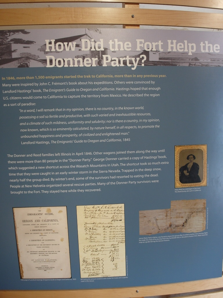 Donner Party Sutter's Fort