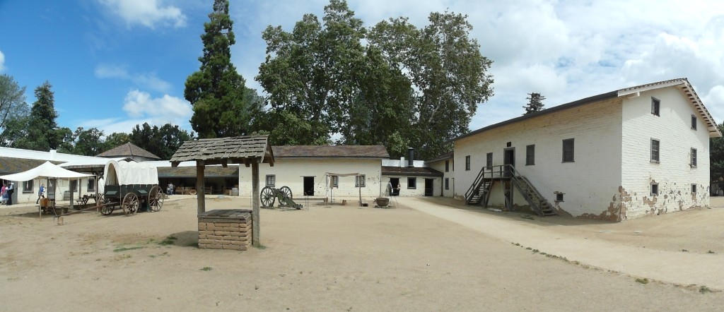 Panorama of Sutter's Fort