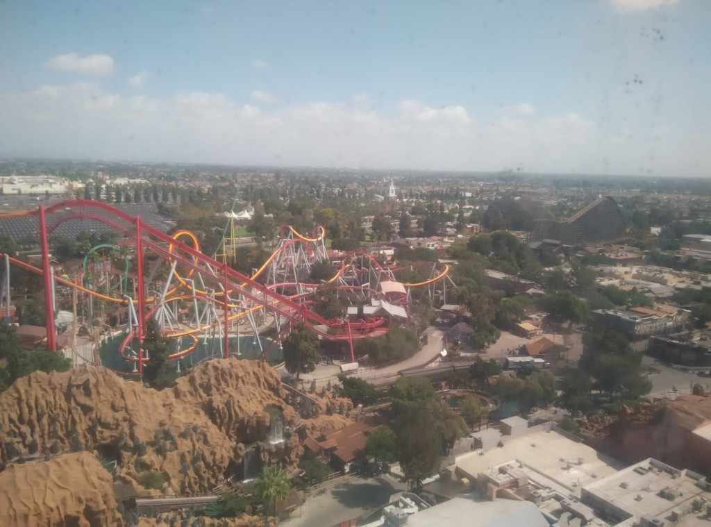 View from Sky Cabin Knott's Berry Farm