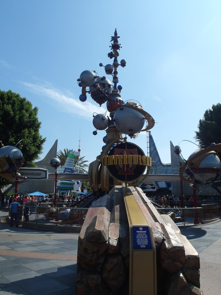 Tomorrowland Disneyland Anaheim