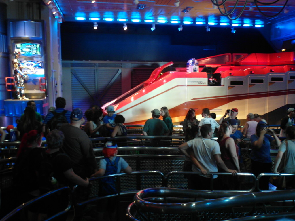 Star Tours (Star Wars 4D Ride)