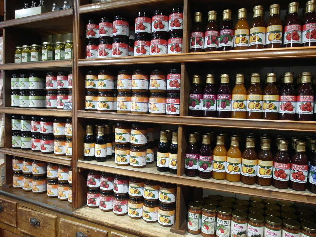 Knott's Berry Farm Jams still being sold today