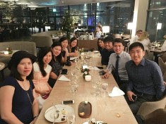 Group Photo at Artemis Grill Singapore