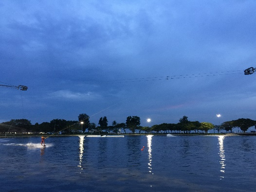 Overview of Singapore Wake Park