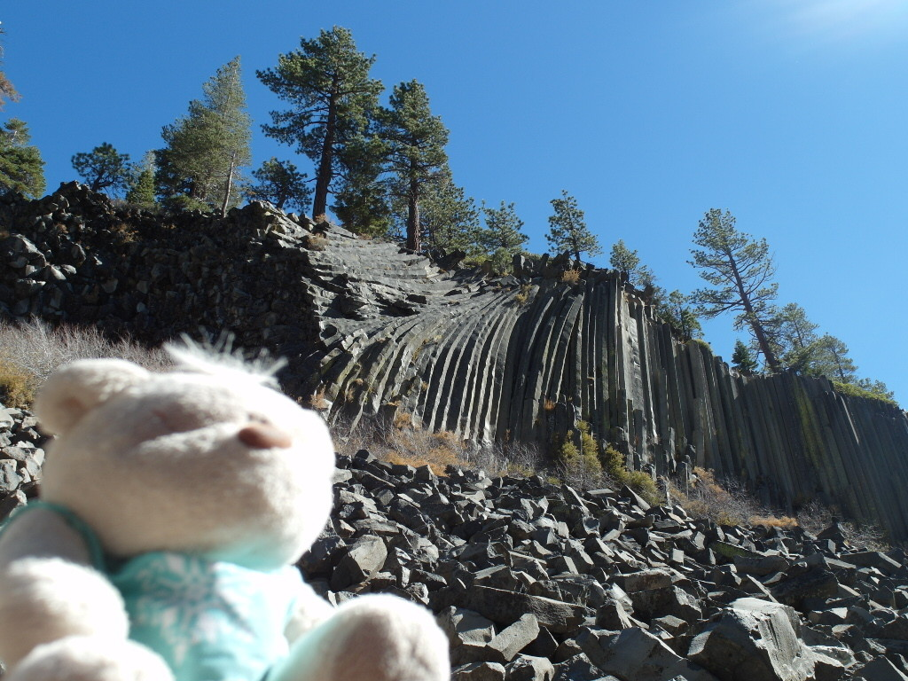 Tom @ Devil's Postpile