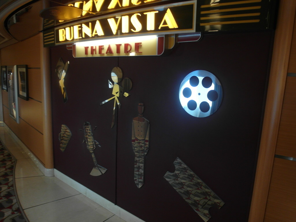 Buena Vista Theater Disney Wonder Disney Cruise Line