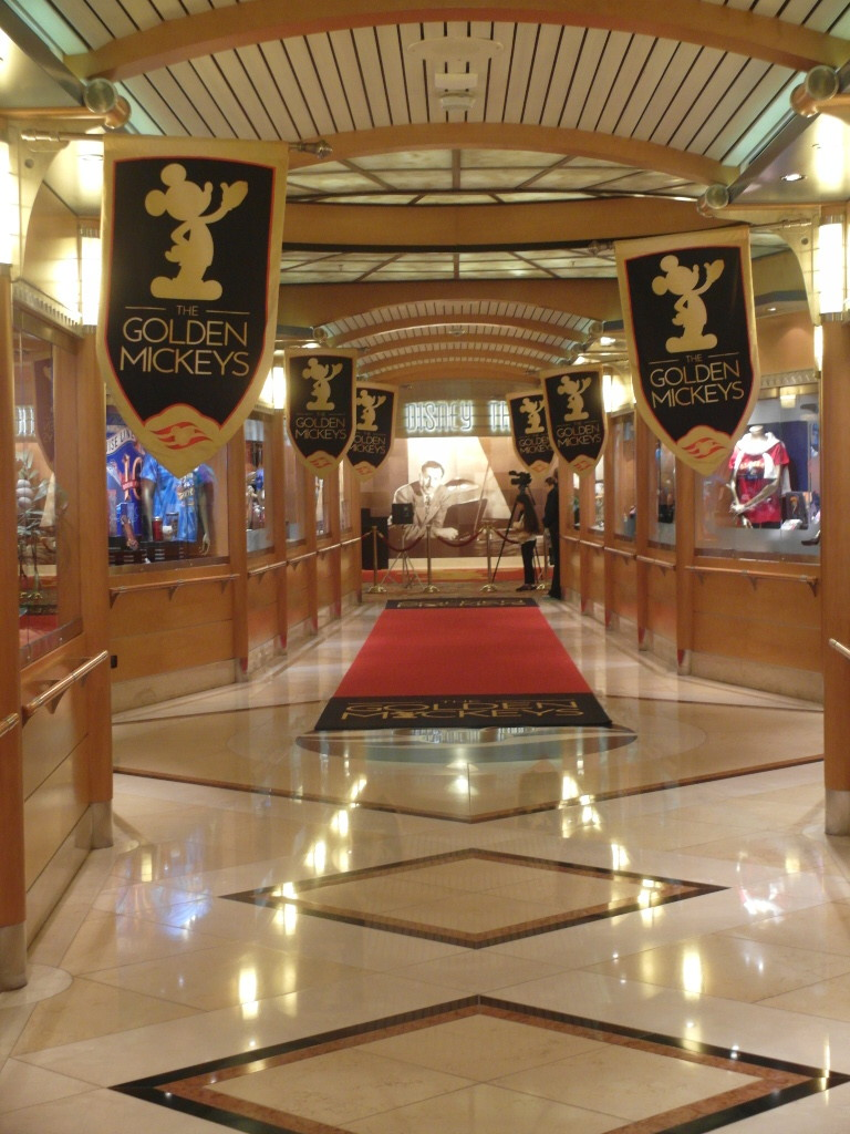 Corridor to Walt Disney Theater