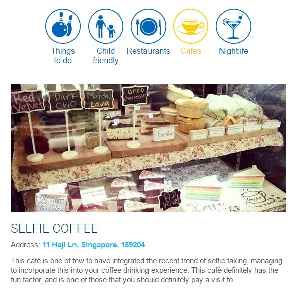 Selfie Cafe Singapore