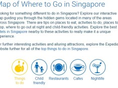 Expedia SG Interactive Map