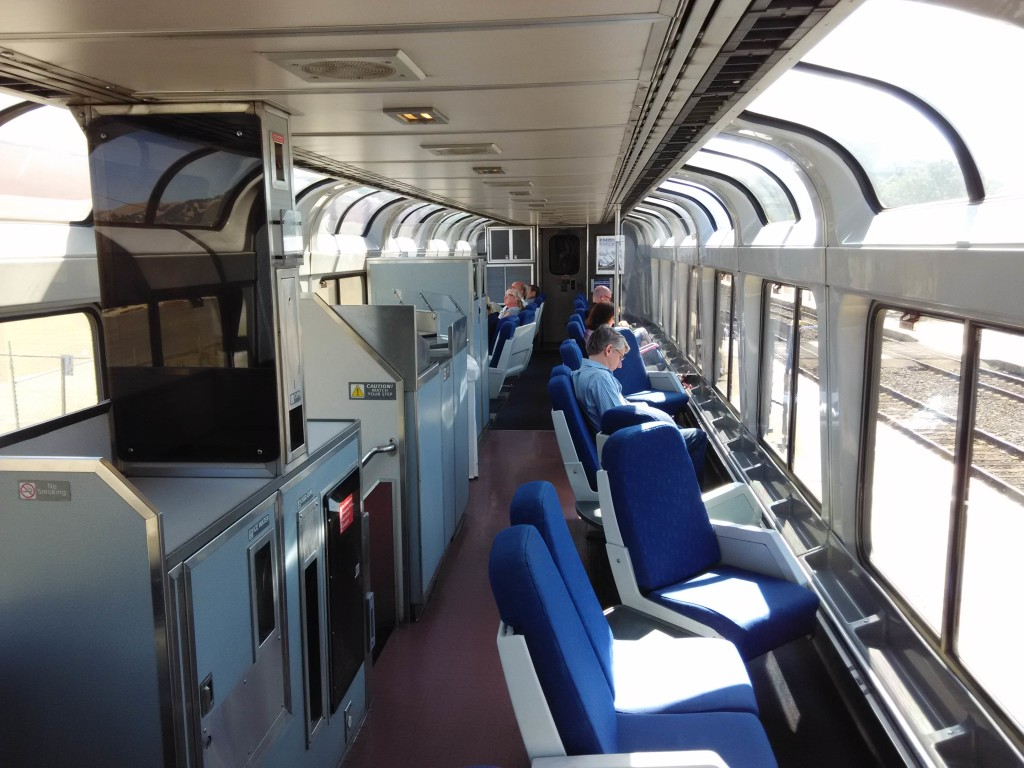 Sightseer Lounge California Zephyr Amtrak