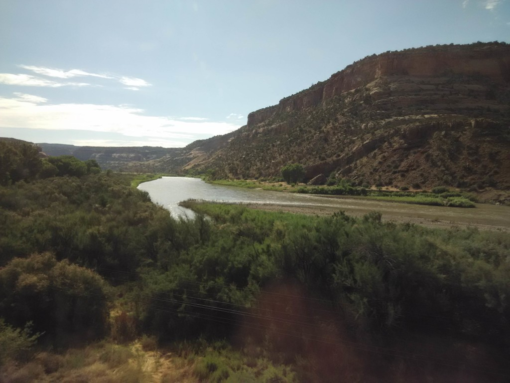 California Zephyr Scenery - Colorado River