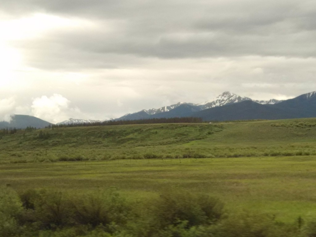 California Zephyr Scenery - Rockies