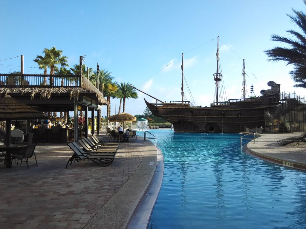 Pirate's Theme Plunge Pool Lake Buena Vista Resort Village & Spa