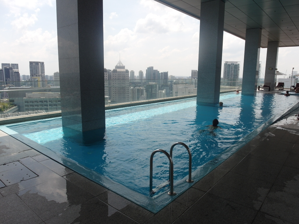 Oasia Hotel Singapore Club Lounge Pool
