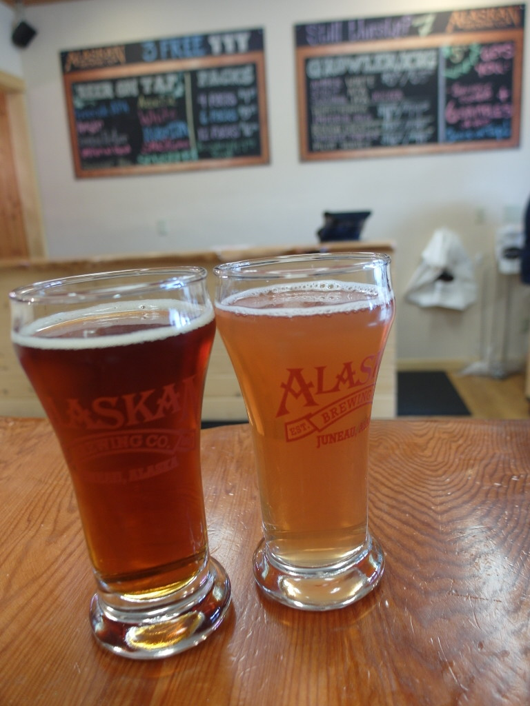 Beer Sampling Alaskan Brewing Company