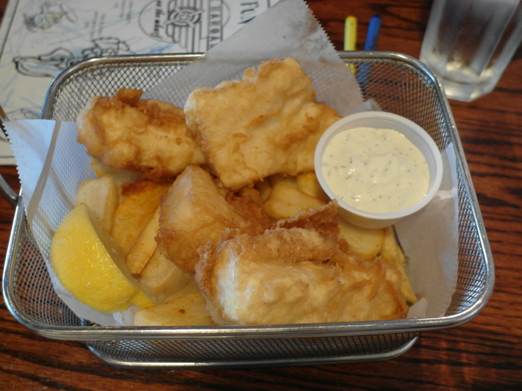 Halibut Fish & Chips Hangar on the Wharf Juneau