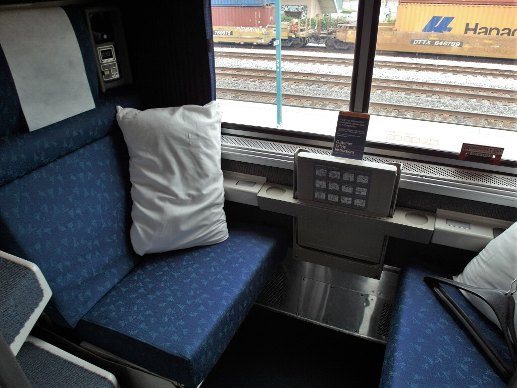 California Zephyr Roomette - Small but functional