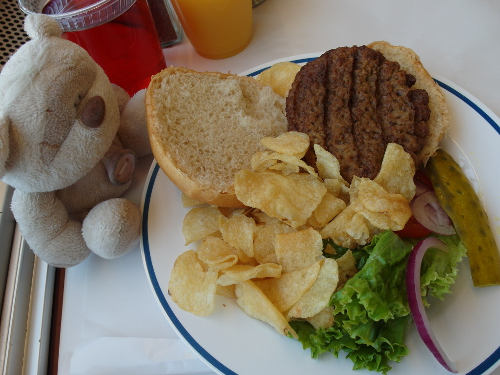 California Zephyr Lunch - Angus Steak Burger