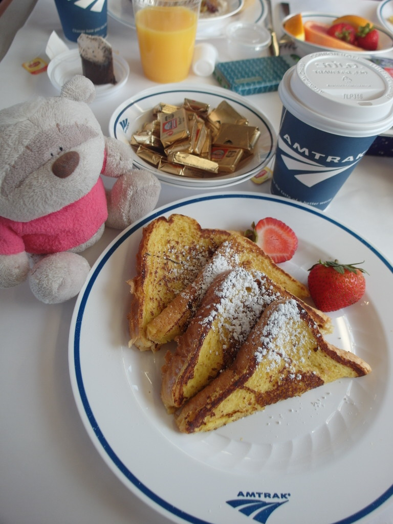 California Zephyr Breakfast - Railroad French Toast