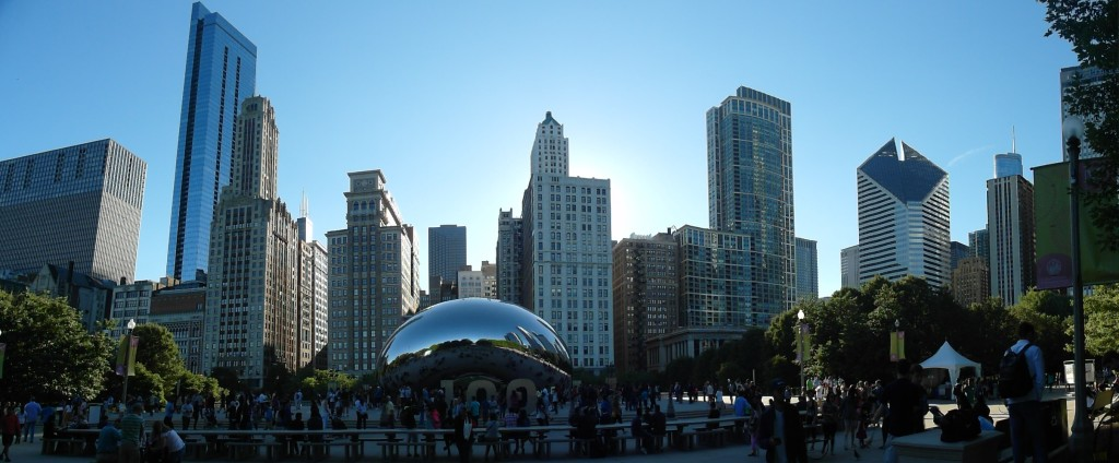 The Bean aka Cloud Gate - Most Iconic Structure in Chicago