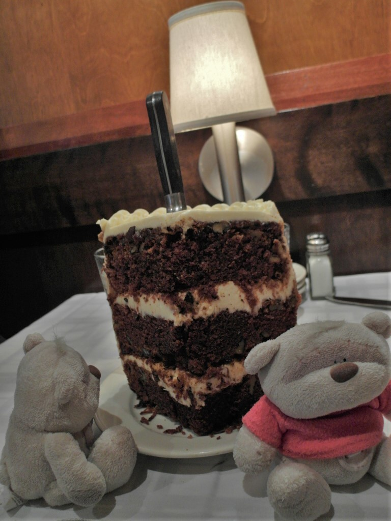 HUGE Carrot Cake @ Gibsons Bar & Steakhouse