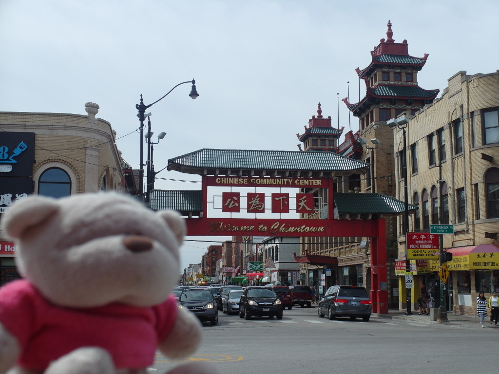 2bearbear @ Chicago Chinatown
