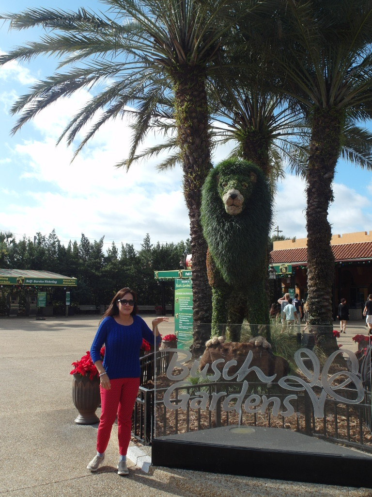 Entrance of Busch Gardens Tampa Bay