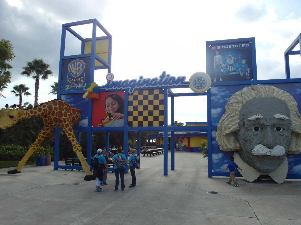 Imagination Zone Legoland Florida