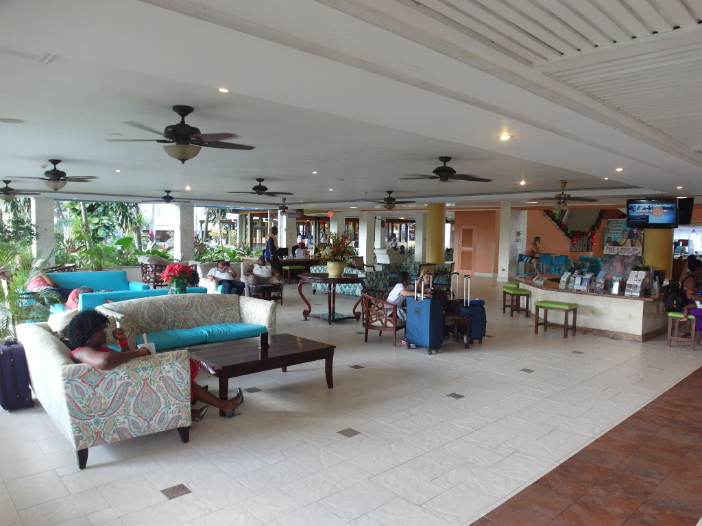 Lobby of Holiday Inn Resort Montego Bay