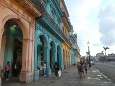 Entrance of Los Nardos opposite Capitol Building Havana