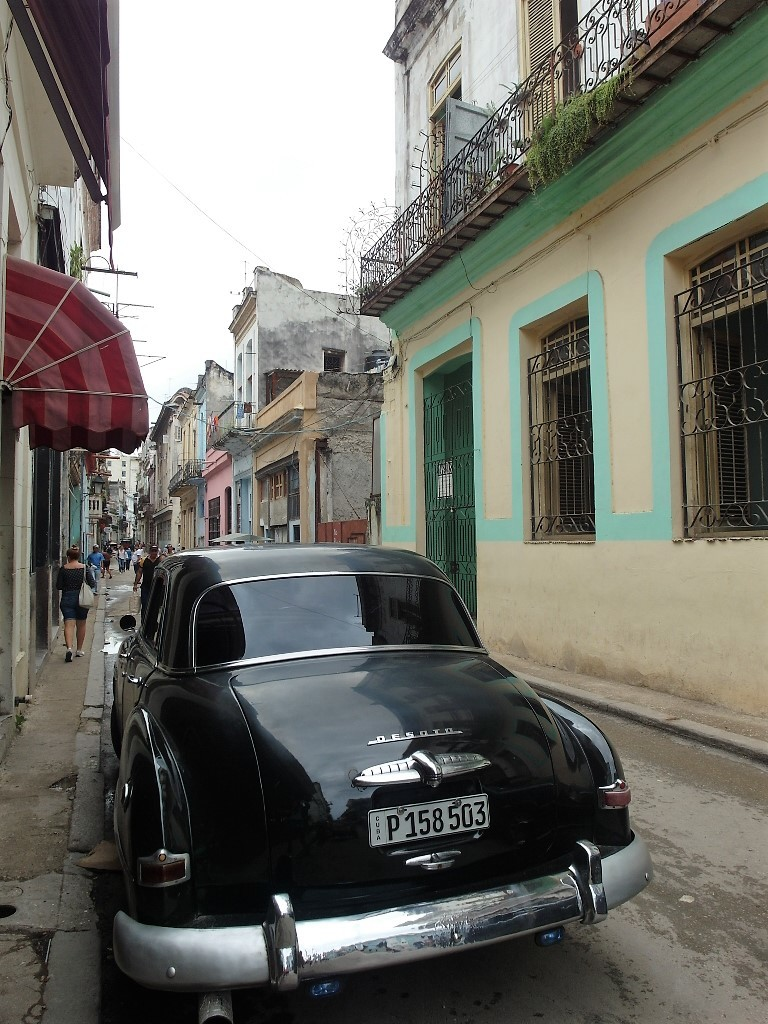 Classic DeSoto (Division of Chrysler) in Cuba