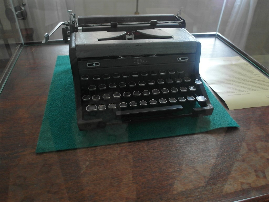 Type Writer used by Ernest Hemingway