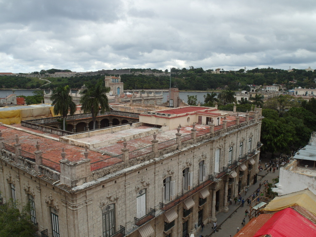 View of Morro Cabana Fort in from Hotel Ambos Mundos Havana