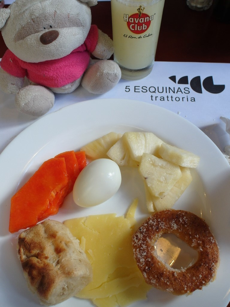 Breakfast at 5 Esquinas Trattoria Havana