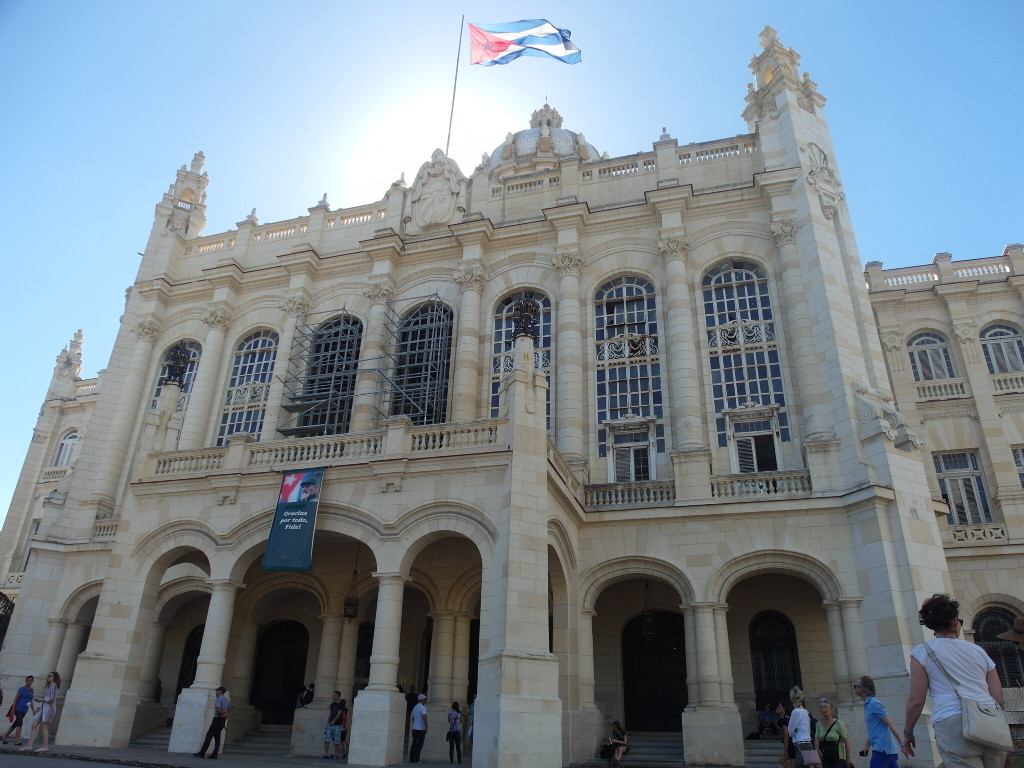 Entrance of Museum of the Revolution Havana (Museo de la Revolucion)