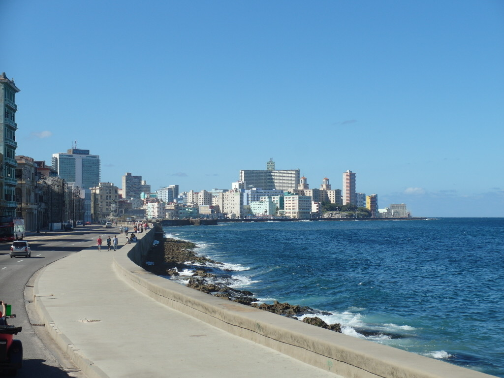 Sea Wall Malecon