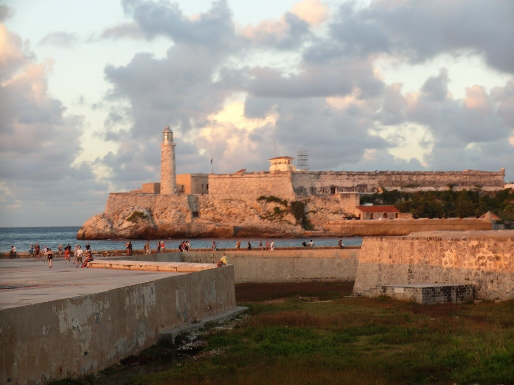 Sunset over Fort (La Cabana Morro)