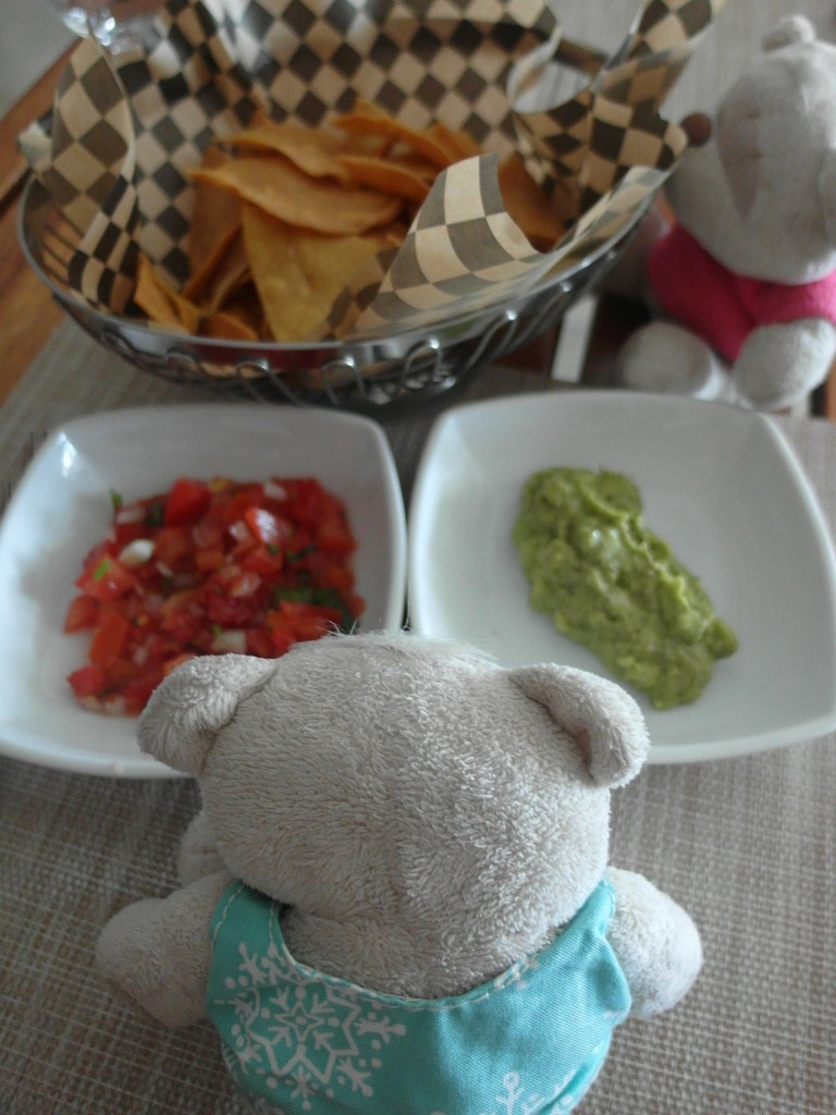 Nachos with Salsa & Guacamole