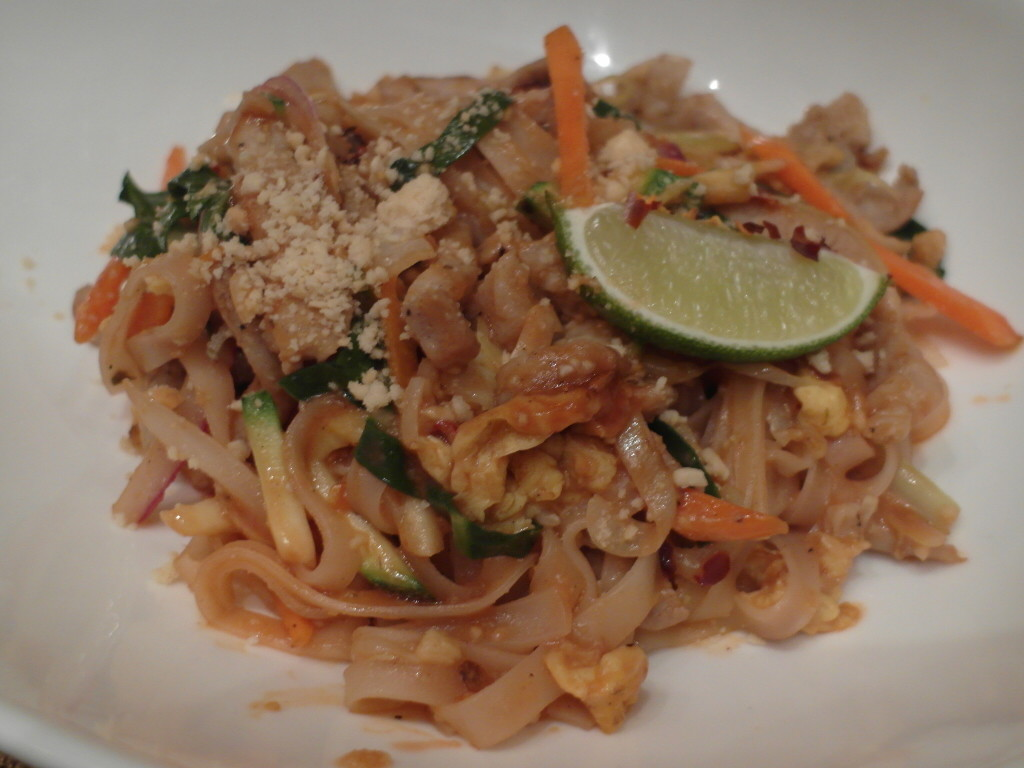 Pad Thai @ Dragons Oriental Dining