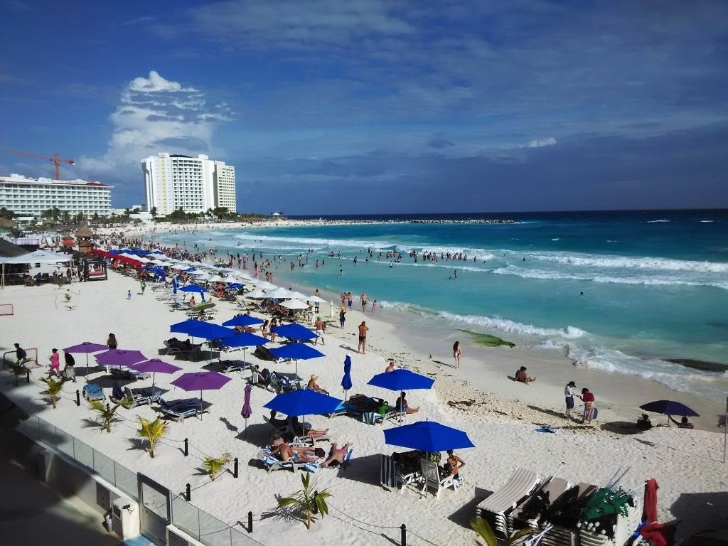 Condominium Salvia Cancun Hotel Zone Review View from balcony
