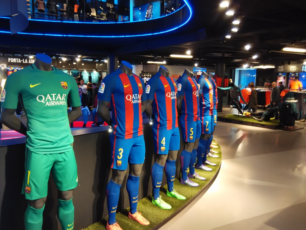 FC Barcelona Official Store at Camp Nou